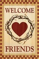 Welcome Friends Fine-Art Print