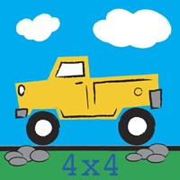 4x4 Truck Fine-Art Print