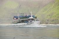 Sightseeing Boat in Niagara Falls Fine-Art Print