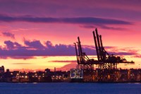 Cargo Cranes, Port of Vancouver Fine-Art Print