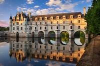 Chateau Chenonceau, Castle, France Fine-Art Print