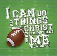 I Can Do All Sports - Football Fine-Art Print