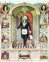 George Washington as a Freemason Fine-Art Print