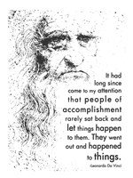 People of Accomplishment -Da Vinci Quote Fine-Art Print