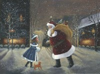 Yes Virginia, There Is A Santa Fine-Art Print