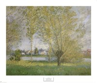 Willows Of Vetheuil Fine-Art Print
