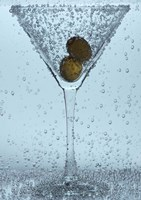 Olive Duo In Martini Glass I Fine-Art Print