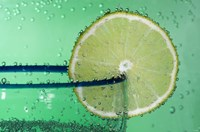 Margarita Glass And Lemon Closeup I Fine-Art Print