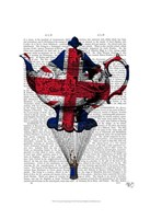 Union Jack Flying Teapot Fine-Art Print
