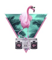 Miami Flamingo Fine-Art Print