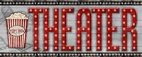Movie Marquee Panel II (Theater) Fine-Art Print