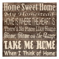 Home Sweet Home 3 Fine-Art Print