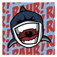 Rahr! Shark Fine-Art Print