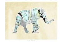 Elephant Multi Fine-Art Print