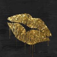 Golden Lips Fine-Art Print