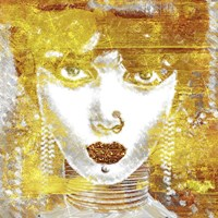 Gold Girl Fine-Art Print