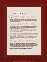 Desiderata Fine-Art Print