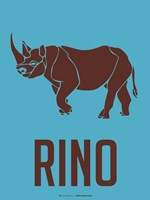 Rhino Brown Fine-Art Print