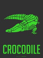 Crocodile Green Fine-Art Print