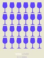 Wine Lover Purple Fine-Art Print