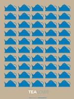 Tea Lover Blue Fine-Art Print