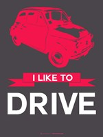 I Like to Drive Beetle 6 Fine-Art Print