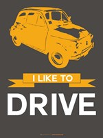 I Like to Drive Beetle 7 Fine-Art Print