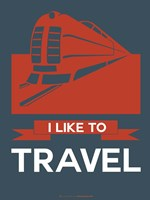 I Like to Travel 3 Fine-Art Print