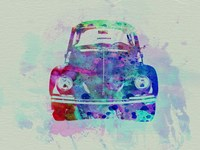 VW Beetle Watercolor 2 Fine-Art Print