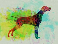 Setter Pointer Watercolor Fine-Art Print