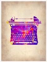 Vintage Typewriter 1 Fine-Art Print