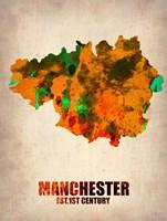 Manchester Watercolor Fine-Art Print