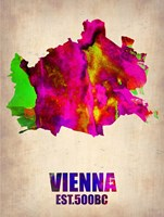 Vienna Watercolor Fine-Art Print