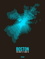 Boston Radiant Map 2 Fine-Art Print