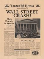 Wall Street Crash! Fine-Art Print