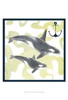 Whale Composition III Fine-Art Print