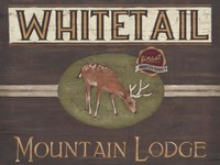 Lodge Sign VI Fine-Art Print