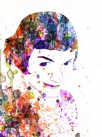 Amelie Watercolor Fine-Art Print