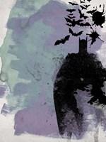 Batman Watercolor Fine-Art Print