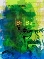 Walter White Watercolor 2 Fine-Art Print