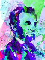 Lincoln Watercolor Fine-Art Print