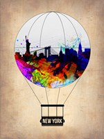New York Air Balloon Fine-Art Print