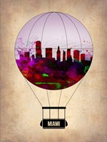 Miami Air Balloon 2 Fine-Art Print