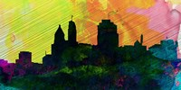 Cincinnati City Skyline Fine-Art Print