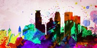 Minneapolis City Skyline Fine-Art Print