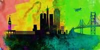 San Francisco City Skyline Fine-Art Print