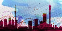 Johannesburg City Skyline Fine-Art Print