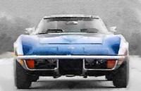 1972 Corvette Front End Fine-Art Print
