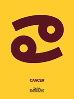 Cancer Zodiac Sign Brown Fine-Art Print