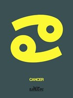 Cancer Zodiac Sign Yellow Fine-Art Print